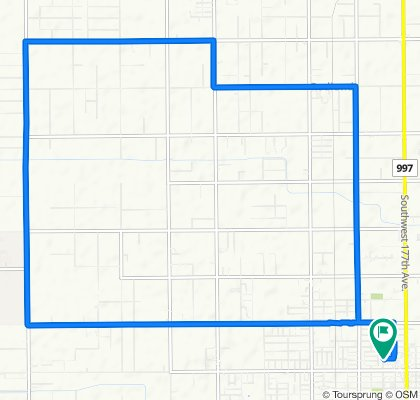 182 NW 17th St, Homestead to 191 NW 17th St, Homestead