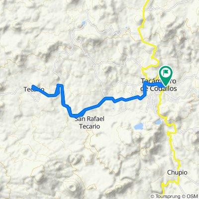 Ruta supersónica en Tacámbaro de Codallos