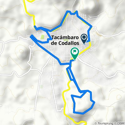 Paseo rápido en Tacámbaro de Codallos
