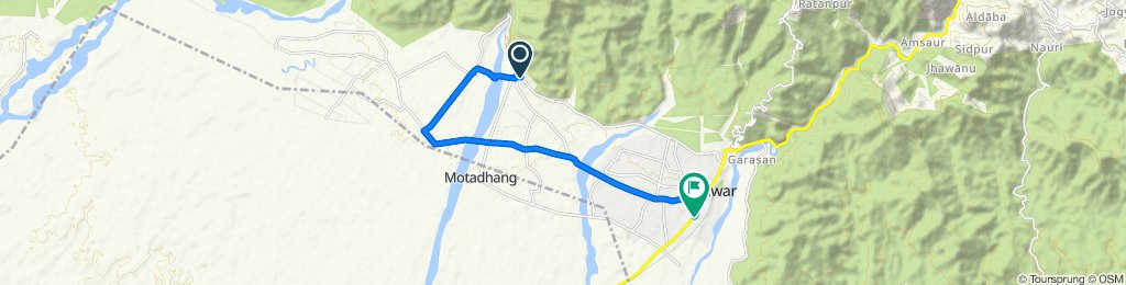 Steady ride in Kotdwara