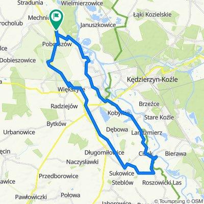Łatwa trasa w Poborszów