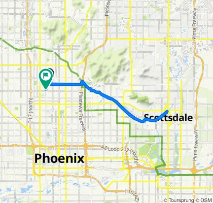 Phoenix to Old Town Scottsdale