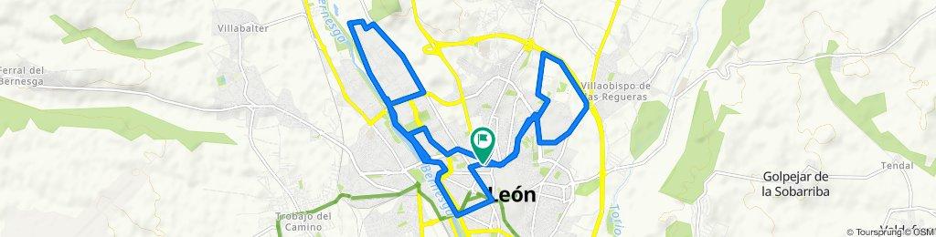 Ruta moderada en León