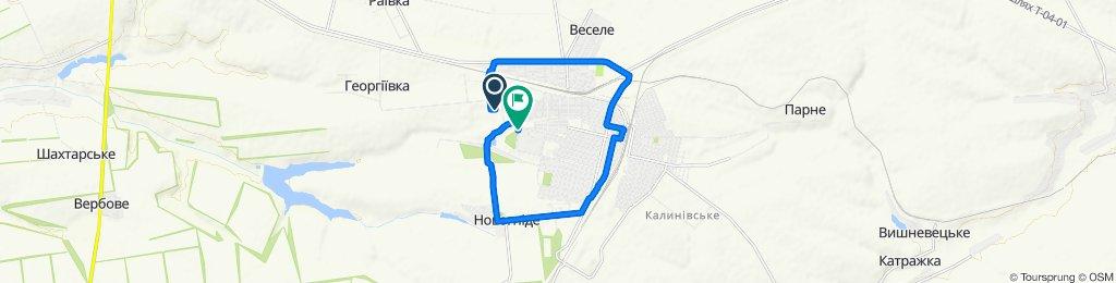 Легкий маршрут в Синельниково