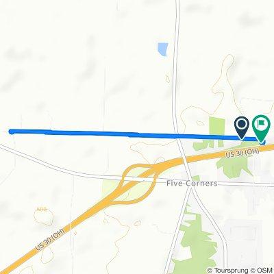 3627 Snodgrass Rd, Ontario to 3615 Snodgrass Rd, Ontario