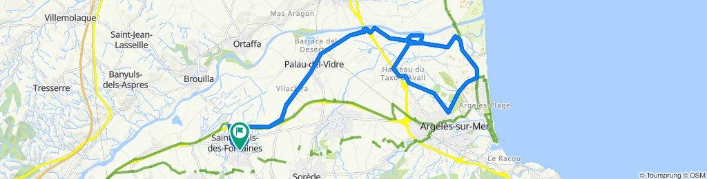 St Genis, Palau, Elne et plaines, Argeles
