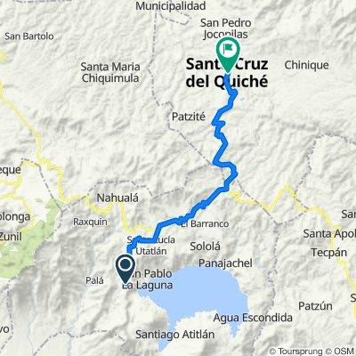 Santa Clara La Laguna - Santa Gruz del Quiché