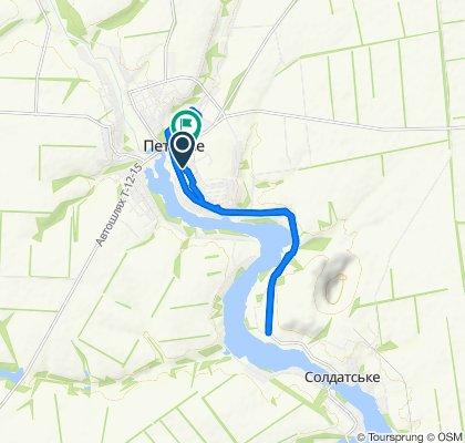 Умеренный маршрут в Петрове