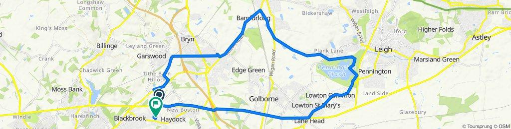 Haydock, Bamfurlong, Lowton loop