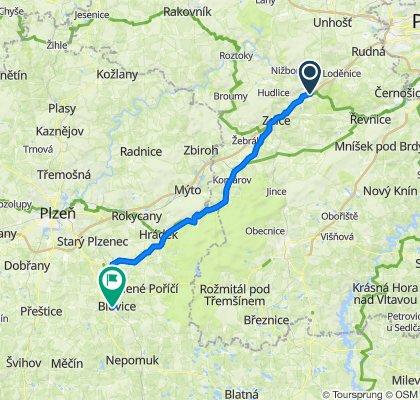 Beroun-Blovice 72 km/490/313 vm