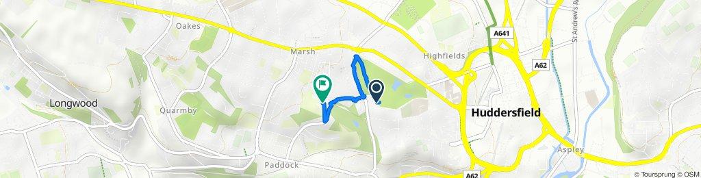 Restful route in Huddersfield