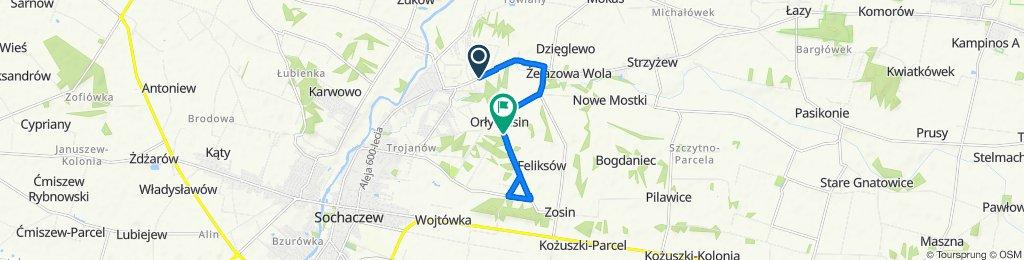 Zrelaksowana trasa w Sochaczew
