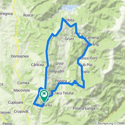 Ziua 2 Globurau-Canicea-Cozia-Zmogotin-Dolina-Globurau