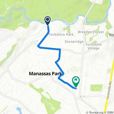 7401–7409 Albemarle Dr, Manassas to 166 Martin Dr, Manassas Park