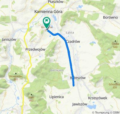 Niezwykle szybka trasa w Kamienna Góra