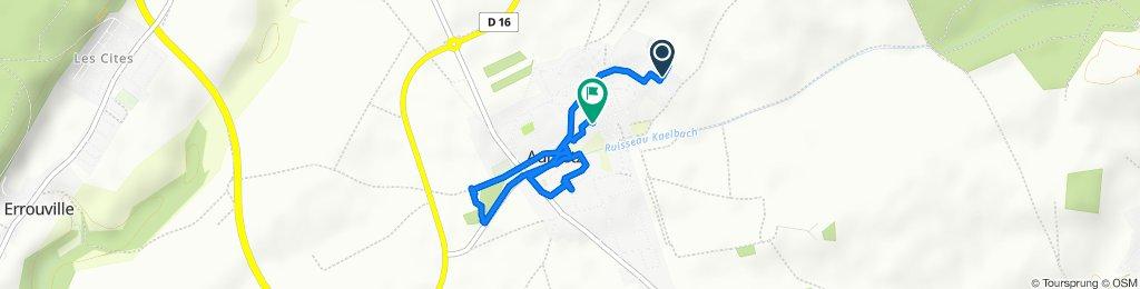 Itinéraire reposant en Aumetz