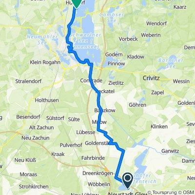 """10. Tag: Neustadt-Glewe - Schwerin - Camping """"Seehof"""""""