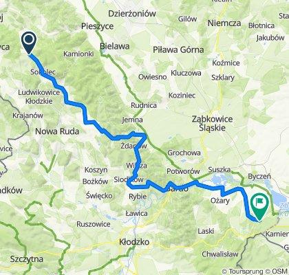 71_Sokolec - Blotnica, 70km