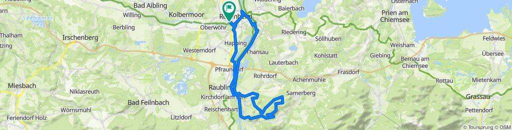 abwechslungsreiche Rundtour zur Dandlbergalm