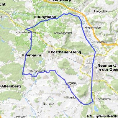 Am König-Ludwig-Kanal rund um Postbauer-Heng