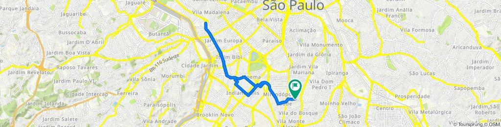 Passeio rápido em São Paulo