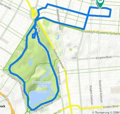 696 St Marks Ave, New York to 678 Nostrand Ave, New York