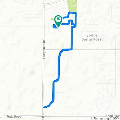 2849 Elk Ln, Santa Rosa to 2849 Elk Ln, Santa Rosa