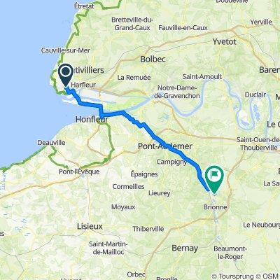 Le Havre - Le Bec Hellouin