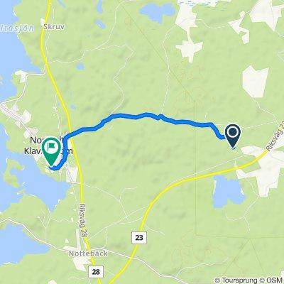 Steady ride in Norrhult-Klavreström