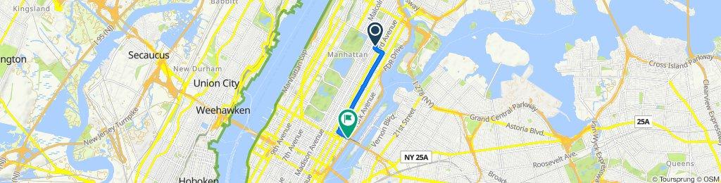 Easy ride in New York