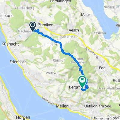 Steady ride in Meilen