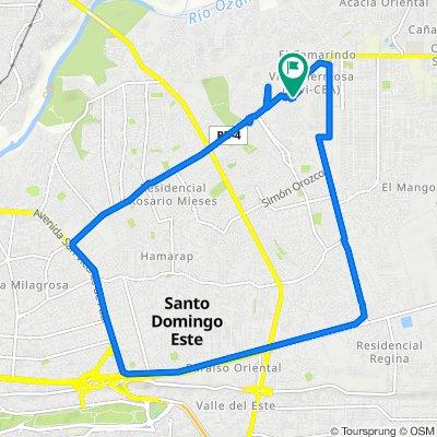 De Calle Perpendicular 2 9, Santo Domingo Este a Respaldo 1 25, Santo Domingo Este