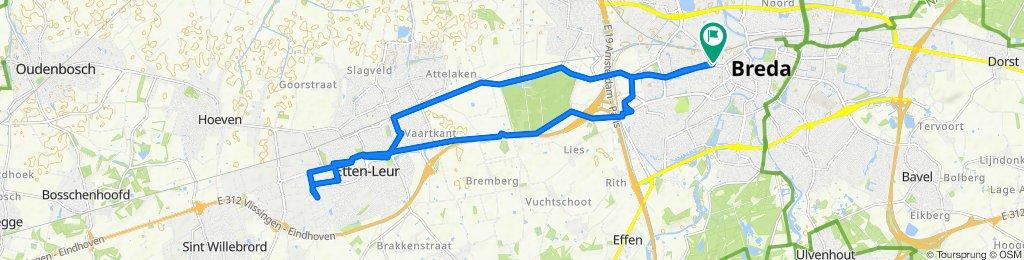 test ride naar Etten-Leur