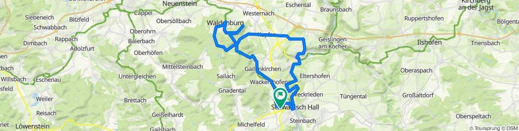 Schnelle Tour in Schwäbisch Hall