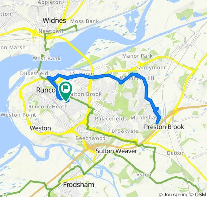 Slow ride in Runcorn