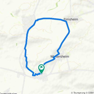Moderate Route in Dorn-Dürkheim