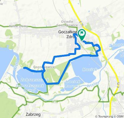 Umiarkowana trasa w Goczałkowice-Zdrój