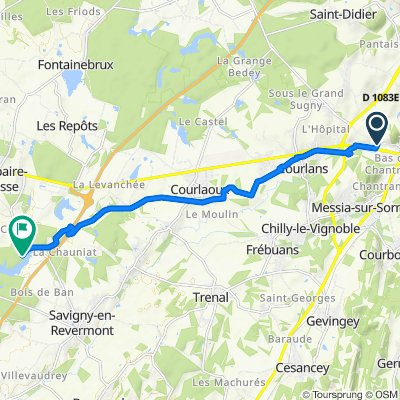 De Rue Sommier 4, Montmorot à Unnamed Road, Savigny-en-Revermont
