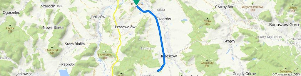 Sportowa trasa w Kamienna Góra