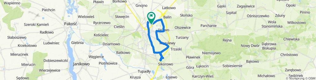 Zrelaksowana trasa w Inowroclaw