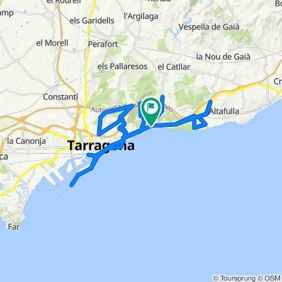 Tarragona Fase 0-1 Ruta 1 Ctra