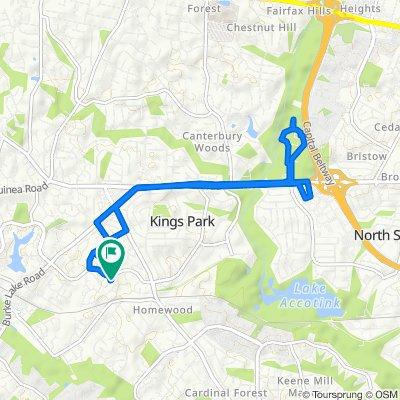 5510 Point Longstreet Way, Burke to 5603 Mt Burnside Way, Burke