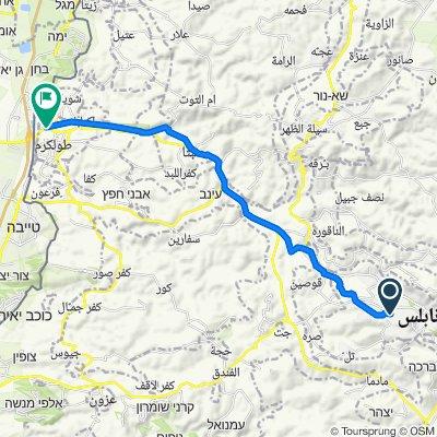 Nablus to 57, Tulkarm