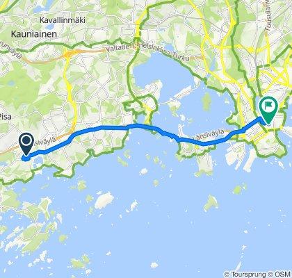 Easy ride in Helsinki