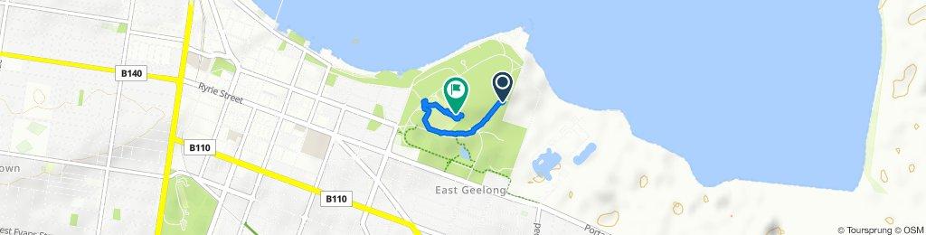 walk in East Geelong