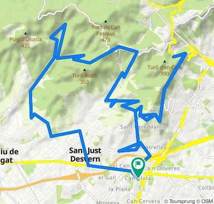 Esplugues de Llobregat - Vall de Sant Feliu 15/05/20