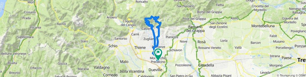 Montecchio - Monte Corno - Velo