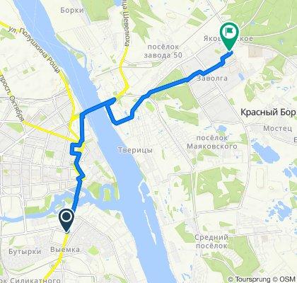 Расслабленный маршрут в Ярославль