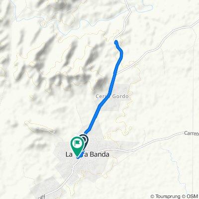 Restful route in Otra Banda