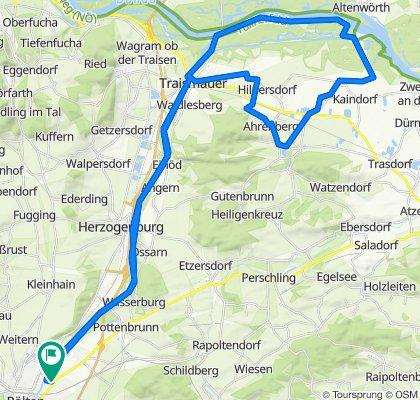 Traisental - Tullnerfeldradweg Runde